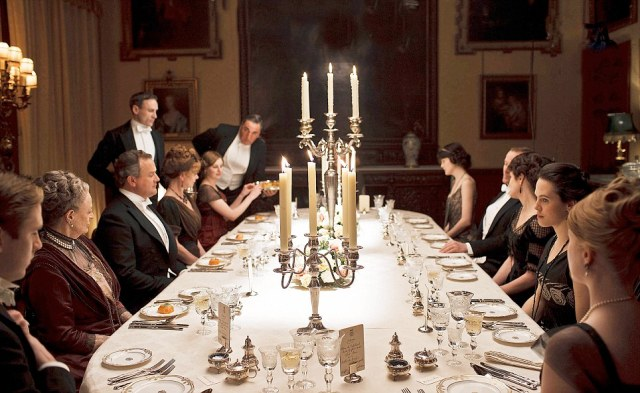 downton abbey dinner
